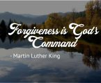 Forgiveness – do they deserve it?
