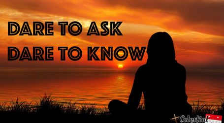 Dare to ask! seeking life questions