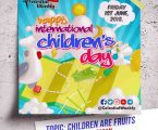 International Children's day: Our Children Are Fruits