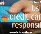 Using Credit Card responsibily