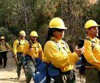 Fire men sing Samoan hymn in Northern California