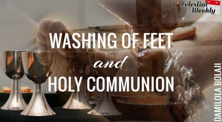 Washing of the feet and Holy Communion