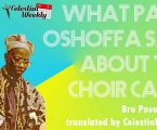 What SBJ Oshoffa said about the cape of Choristers of Celestial Church of Christ
