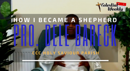 Prophet Dele Bareck – How I became a Shepherd