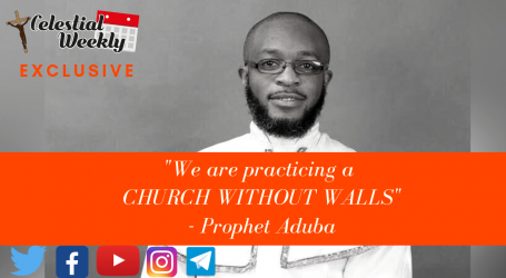 We are practicing a church without walls – Pro. M. Aduba